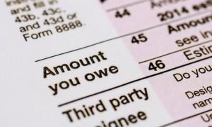 Discharge Tax Debt form